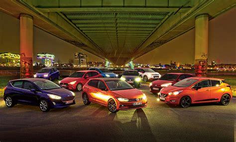 Yaris Seat Ibiza Und Mazda 2 Im Kleinwagen Vergleich by Kleinwagen Gro 223 Er Test Mit Polo Und Co Autozeitung De
