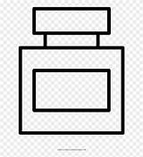 Perfume Coloring Bottle Drawing Ultra sketch template
