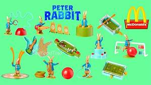 2018 McDONALD'S PETER RABBIT MOVIE HAPPY MEAL TOYS FULL ...