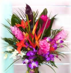 hawaiian wedding flowers tropical wedding flowers