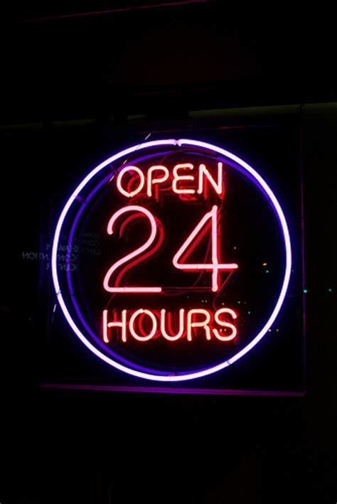 penccil open  hours  gallery  neon signs