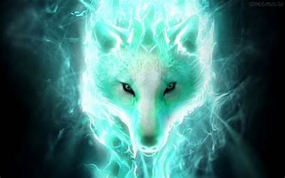Wolf Wallpapers Neon Cool Wallpaperplay
