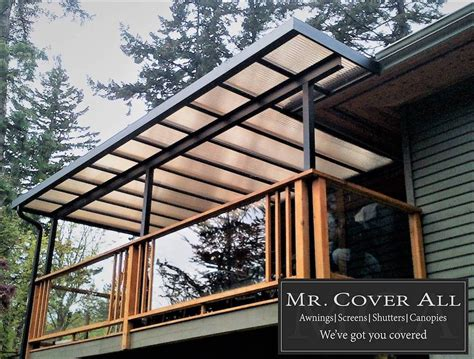acrylic patio deck covers
