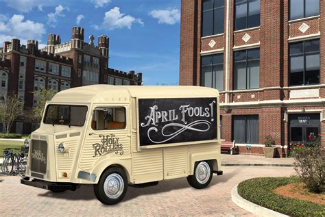 Loyolas Holy Rollers Food Truck To Offer Communion On The
