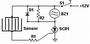 how to build rain detector circuit diagram With rain sensor circuit