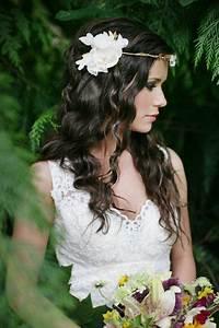 Couronne De Fleurs Mariée : coiffure de mari e la couronne de fleurs beautiful wedding and coiffures ~ Farleysfitness.com Idées de Décoration