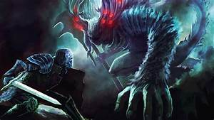 Dark, Souls, Artorias, The, Abysswalker, Great, Grey, Wolf, Sif, Hd, Games, Wallpapers