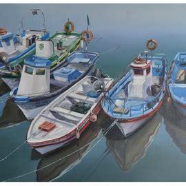 Fishing Boats For Sale Portugal by Roman Markov Boats In The River Ria Formosa Portugal