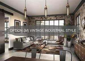 Option, M, Vintage, Industrial, Style