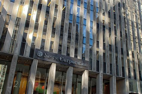 News Corporation Sign Stock Photo - Download Image Now ...