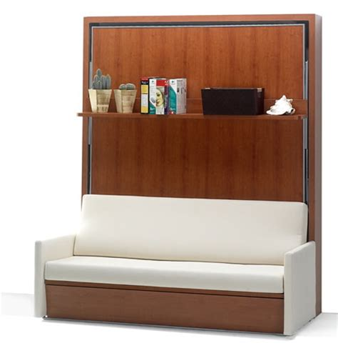 ausklappbares sofa 10 cool murphy beds for decorating smaller rooms