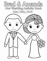Groom Bride Coloring Pages Sheets Colouring Getdrawings Printable Getcolorings sketch template