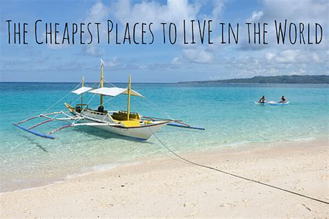 The Cheapest Places To Live In The World  2016