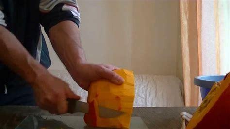 comment éplucher un potiron ou potimarron