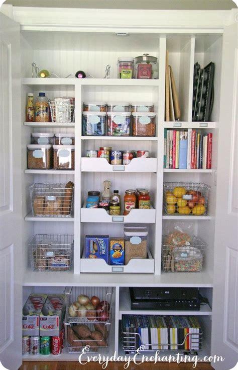 best way to organize a small kitchen best 25 pantry cupboard ideas on kitchen 9755