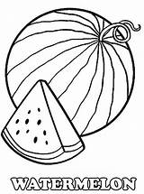 Watermelon Coloring Pages Printable Drawing Slice Colouring Melon Water Fruit Outline Fresh Fruits Worksheets Birthday Kidsplaycolor Bestcoloringpagesforkids Sheets Vegetable Preschool sketch template
