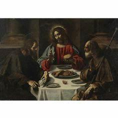 Emmaus Saint Priest : francisco de zurbar n the supper at emmaus 1639 museo ~ Premium-room.com Idées de Décoration