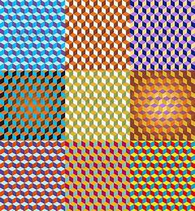 3D Cubes Seamless Pattern | GraphicRiver