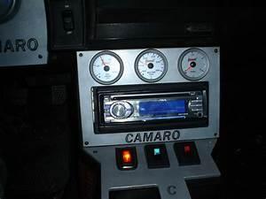 Custom Camaro Dash  Radio Bezel  Shifter Plate