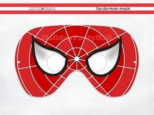 Spiderman Printable Maskspider Manparty Masksspiderman