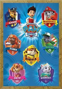 Paw Patrol Alle Hunde : paw patrol crests kinder hunde tv poster plakat druck ~ Watch28wear.com Haus und Dekorationen