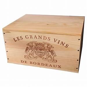 Caisse De Vin En Bois : caisse en bois avec couvercle achat vente caisse en ~ Farleysfitness.com Idées de Décoration