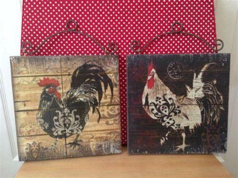 Home Interior Rooster Picture : Stunning Rooster Kitchen Decor Online