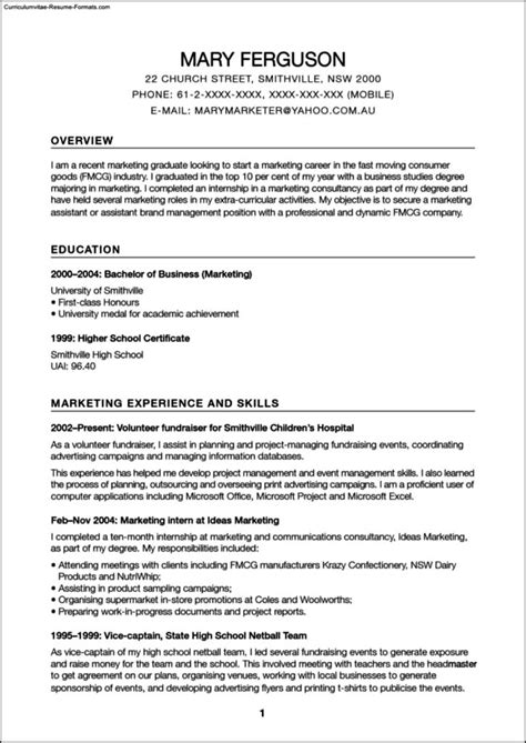 Resume Model by Promotional Model Resume Template Free Sles