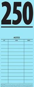 auction supplies With auction bid cards template