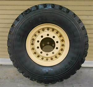 New Military 395  85r20 Michelin Xzl Tire W   5 Ton 10 Hole