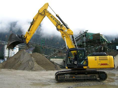 new bagger neuer bagger new e385c bwr gmbh betonwerk bauschutt recycling pustertal s 252 dtirol