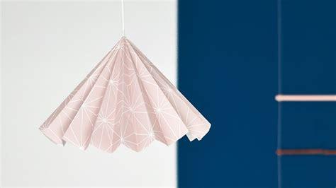 une suspension origami diy shake my blog