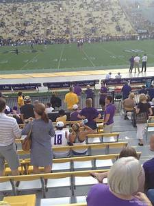 Tiger Stadium Baton Seating Chart Tiger Stadium Section 303 Rateyourseats Com