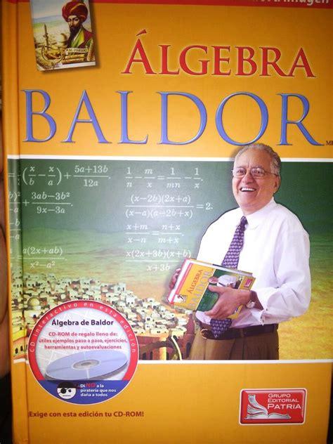 Blog de libros preuniversitarios y universitarios en formato pdf, para descargar gratis. Algebra De Baldor C/ Cd Nuevo Original !!! - $ 550.00 en ...