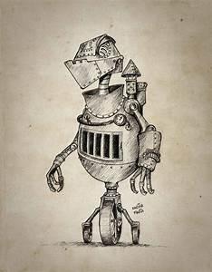 Retro Robot by karinafaria on DeviantArt