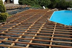 Pose Lame Composite : pose lame composite terrasse 4 terrasse en bois piscine ~ Premium-room.com Idées de Décoration