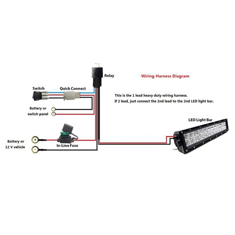 Bar Led Wire Diagram by Led Bar Wiring Diagram Volovets Info