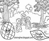 Night Garden Coloring Haahoos Drawing Easy Colouring Cartoon Cbeebies Template Activities Patio Printable Tombliboos Colour Beginners Magical Play sketch template