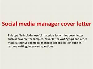 Social media manager cover letter for Cover letter for social media specialist