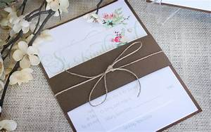 floral archives impressions custom invitations for With rustic wedding invitations toronto