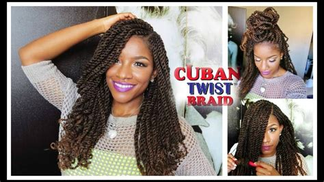 Tutorial & Styling W/ Freetress Equal Cuban Twist Hair