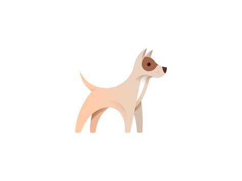 dog illustration  alexander tsanev dribbble