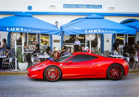 south beach exotic cars