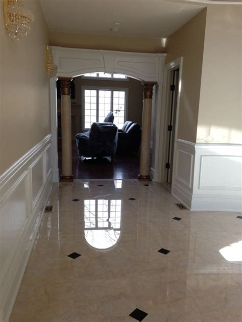 high gloss ceramic floor tiles high gloss porcelain tile the look and feel of real marble without the maintenance our