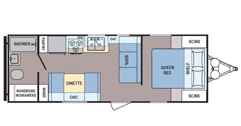 Coleman Travel Trailers Floor Plans by 2017 Coleman Coleman Cts235qb Cing World Of Cedar