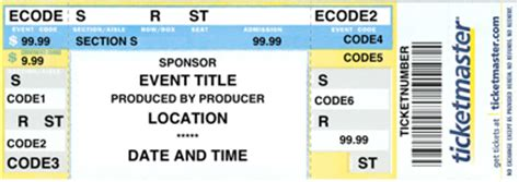 ticketmaster ticket template united airlines  travelling