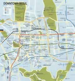 Seoul South Korea Map