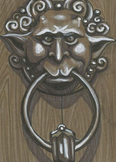 labyrinth door knockers labryinth psc door knocker 2 by ashleighpopplewell on