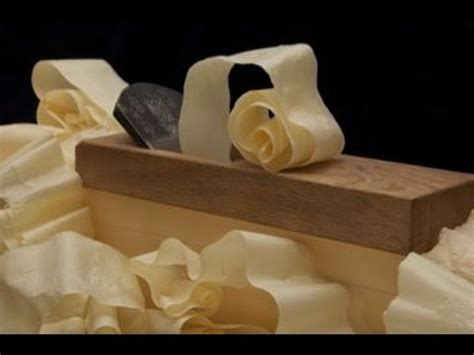 woodworking japanese hand plane unbelievable shavings
