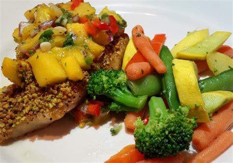 grouper entree encrusted pistachio pelican grill